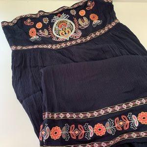 Xhilaration XXL strapless Maxi Dress